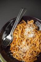 spaghetti bolognaise foto