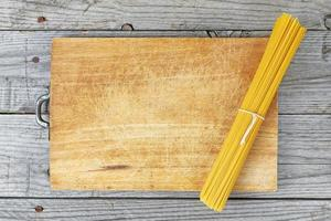 italiensk matspagetti foto
