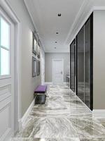 modern korridor design foto