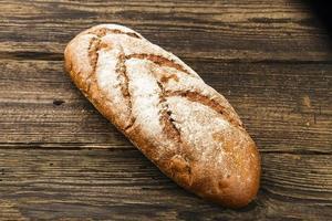 färskt vitt bröd foto