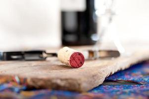 smak av rött vin foto