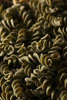 diverse hemlagad torr italiensk pasta foto