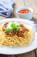 italiensk pasta bolognese