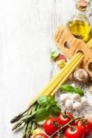 italiensk matbakgrund