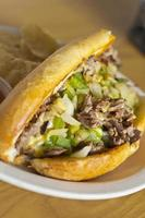 philly cheesesteak foto