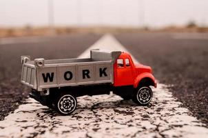 modell av lastbilen