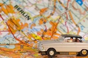 tysk bil i Berlin foto