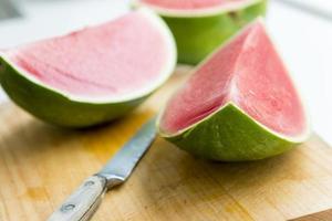 vattenmelonskiva foto