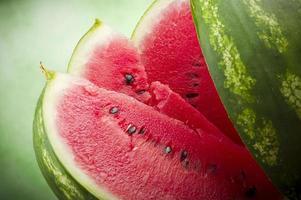 färsk vattenmelon foto