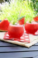 vattenmelon drycker foto