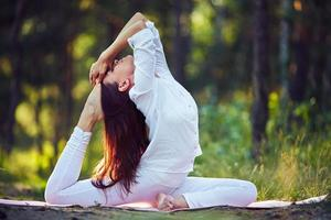 yoga träning foto