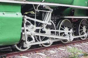 gammal tågtappning, tåghjul foto