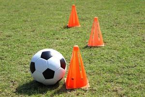 fotbollsträning foto