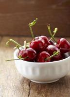 färsk frukt, körsbär