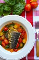 grillad fiskfilé foto