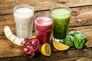 hälsosam smoothie - ät rent foto