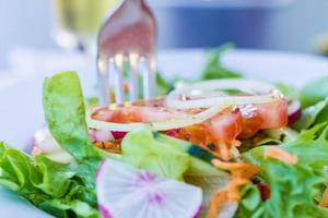 färsk salat foto