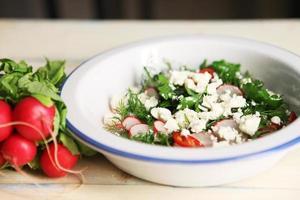 organisk välsmakande måltid foto
