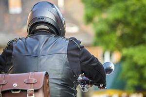 motorcyklist foto
