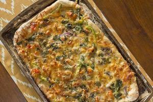 hantverkare pizza foto