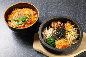koreanska rätter foto
