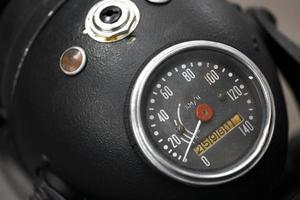 motorcykel hastighetsmätare foto