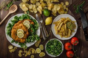 tyska schnitzel foto