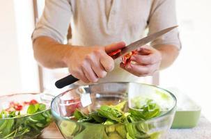 ingredienser för sallad foto