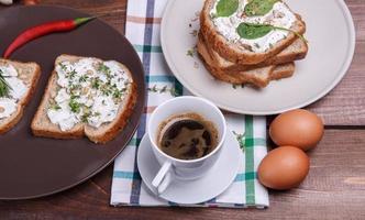 färsk frukost foto