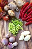 färska kryddor foto