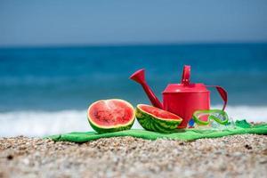 tillbehör för sommarlovet foto