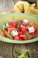 vattenmelonsallad foto