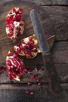granatäpplefrön foto