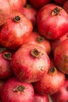 hälsosam mat, granatäpple foto