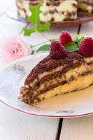 hallon tårta foto