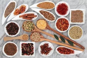 örter och kryddor foto