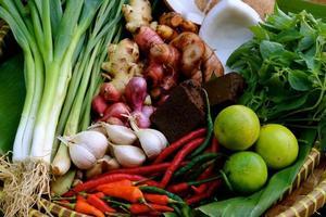 grundläggande asiatisk kök krydda foto