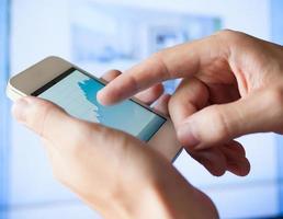 smart telefon mobil foto
