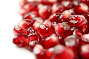 färsk granatäpple foto