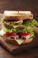 Club sandwich foto