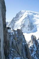 mont blanc stenar foto