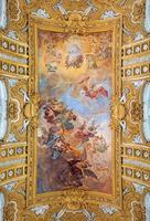 Rom - freskområn av rebelliska änglarnas fall foto