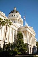 huvudstadsbyggnad i Sacramento, Kalifornien foto