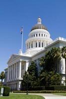 Kalifornien huvudstadsbyggnad foto