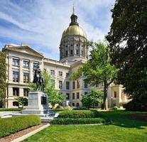 Georgiens statliga huvudstad foto