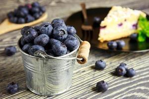 blåbärstårta foto