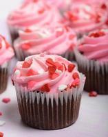 rosa muffins foto