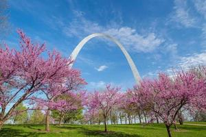 st. Louis gateway arch foto