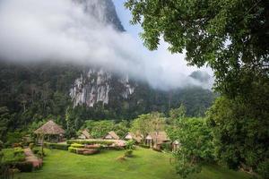 semesterort i södra Thailand foto