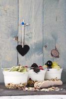 fruktyoghurt foto